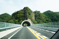 出雲ICー<山陰自動車道>ー松江JCT写真