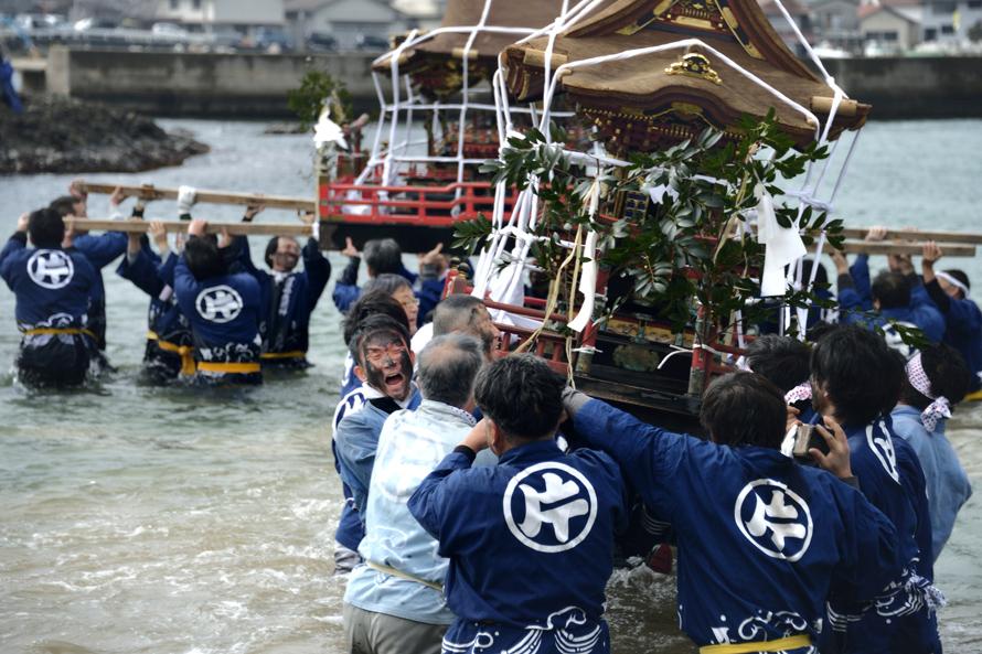 墨付け祭り 和泉鉄美(広島県)